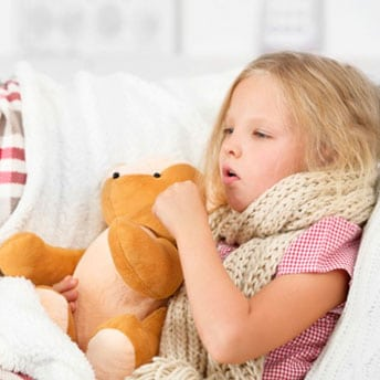 mocos y tos en niños